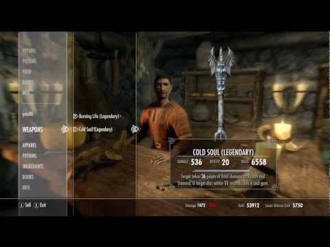 Skyrim - How to Sell the Most Expensive Items Using Riverwood - Guide / Walkthrough
