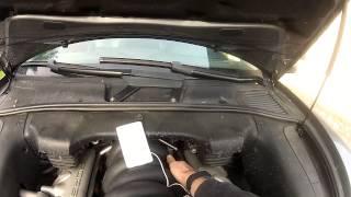 diagnostique moteur cayenne turbo partie 1