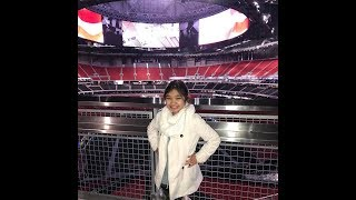 ANGELICA HALE SINGS AT NFL ATLANTA FALCONS VS.DALLAS COWBOYS GAME TODAY
