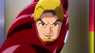 Marvel Disk Wars The Avengers Se1 - Ep1 The Mightiest of Heroes! - Screen 08
