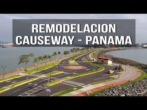 DETALLES de todas las mejoras a la Calzada de Amador - Causeway - Panamá