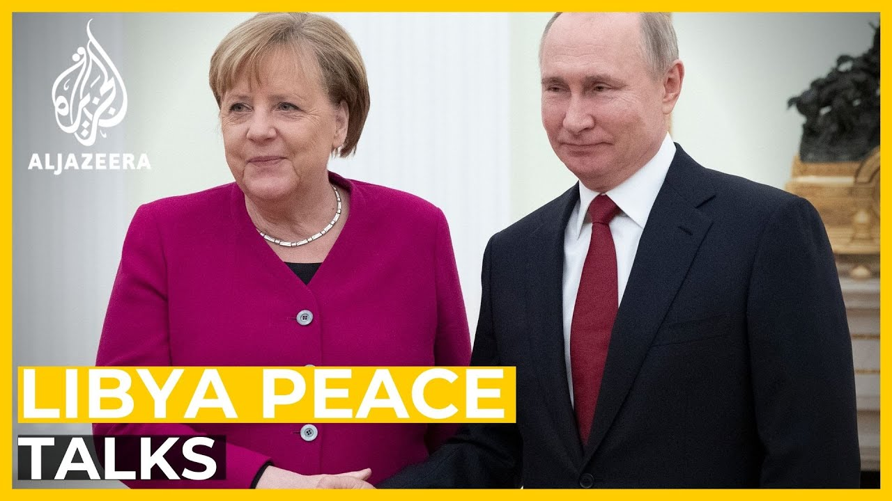Merkel meets Putin to discuss Middle East crisis