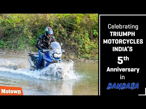 Celebrating 5th anniversary of Triumph Motorcycles India | Special Feature | Motown India