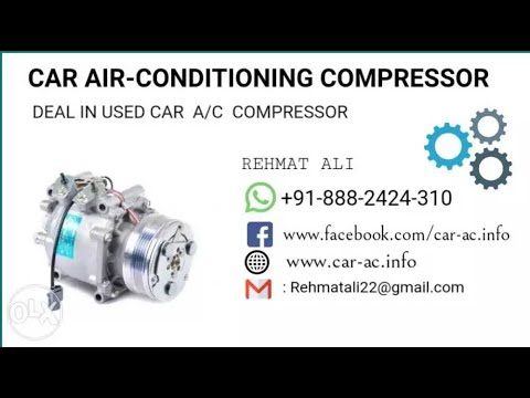 auto car Ac compressor repair