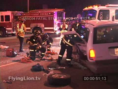 Fatal Street Race Crash in West Covina