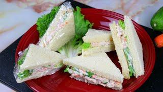 ফষটফড সটইল চকন সযনডউইচ  How to Make Chicken Sandwich  Chicken Sandwich Bangla