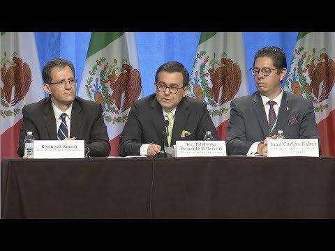 Conferencia de Inicio de Negociaciones TLCAN