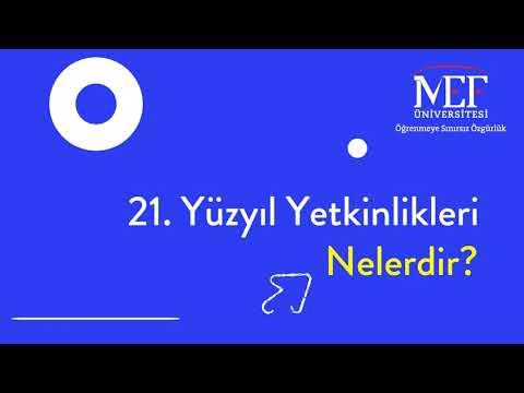 Prof. Dr. Erhan Erkut / 21. Yüzyıl Yetkinlikleri -  1. Bölüm Özet