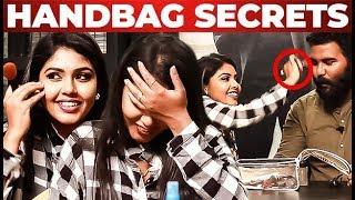 Hema Rajkumar Handbag Secrets Revealed! | What's Inside the HANDBAG