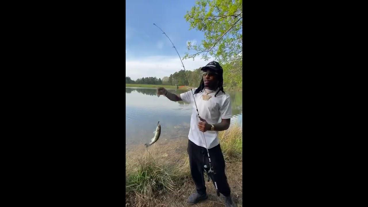 Quavo catches a Fish Stick #Shorts