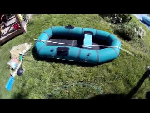 """Надувная резиновая лодка """"Ветерок-1"""""""