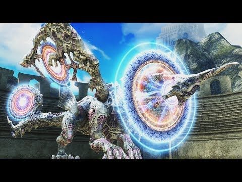 Final Fantasy XII Zodiac Age: Yiazmat Boss Fight (Super Boss) (1080p)