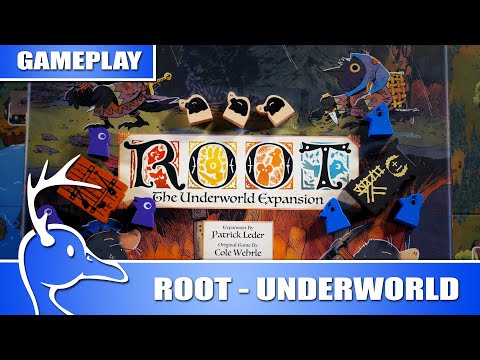 Root - The Underworld Expansion - Lake Multiplayer - (Quackalope Gameplay)
