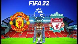 Manchester United vs Liverpool - 2021/22 Premier League Season - Gameplay