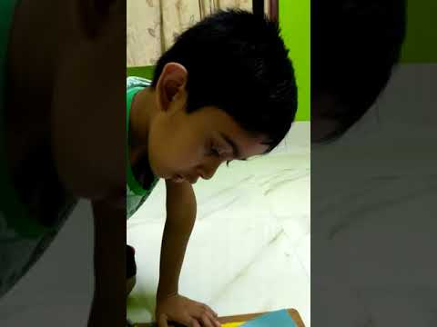 Dragon | Drawing | Child Artist | | Part 1 |