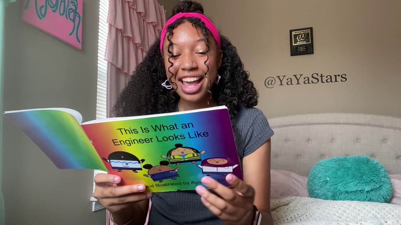 """Rosie Reads: """"This Is What an Engineer Looks Like"""" by Ayonnah Tinsley"""