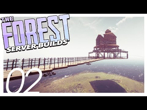 FLOATING BASES | The Forest Server Best Builds (Part 2)