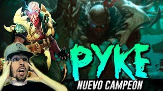 PYKE, UN CAMPEÓN PARA DOMINARLOS A TODOS! WTF RITO?! (League of Legends)