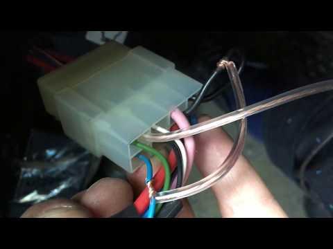 Включение магнитолы от датчика присутствия ключа зажигания