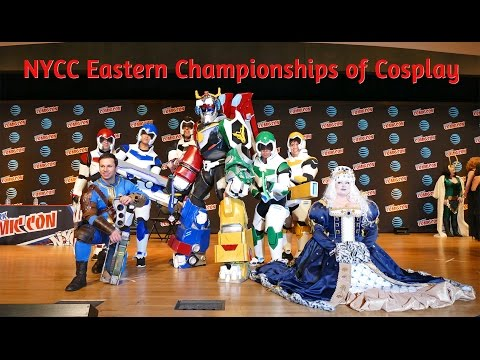 New York Comic Con Eastern Championships of Cosplay, NYCC 2016 Best Cosplayers