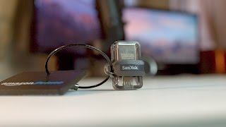 Sandisk Ultra m3.0 OTG USB Drive.