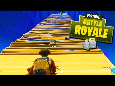 How Not to Do a SKYBRIDGE CHALLENGE! - Fortnite with The Crew!