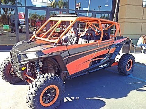 2014 Rzr Xp 4 1000 Quot Tazmanian Devil Quot Custom Build Inside