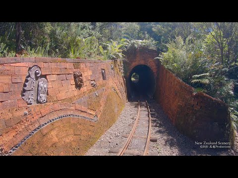 4K Driving Creek Railway Coromandel NEW ZEALAND ニュージーランド 紐西蘭 Part 9