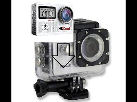Action Camera Subacquea : Inserire una action cam nella custodia subacquea youtube