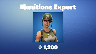 Munitions Expert | Fortnite Outfit/Skin