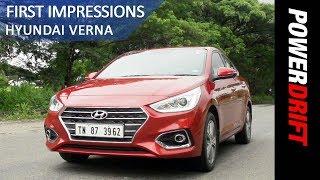2017 Hyundai Verna First Drive PowerDrift