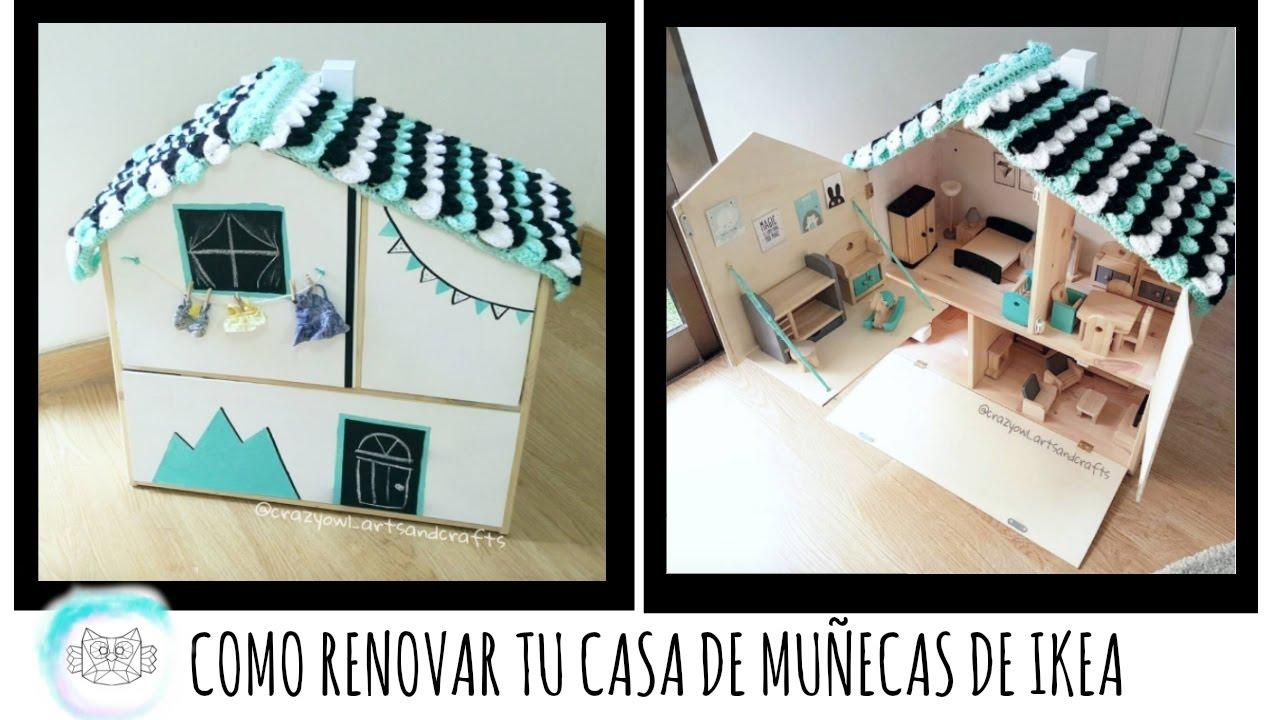 Como renovar tu casa de mu ecas flisat de ikea youtube - Casa de jengibre ikea ...
