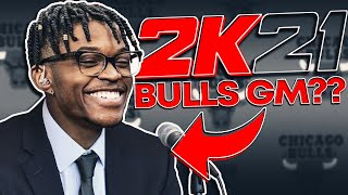 The Chicago Bulls Hired Me as the GM for NBA 2K21
