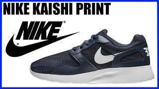 Обзор кроссовок Nike Kaishi Print Распаковка Sneakers Unboxing Review