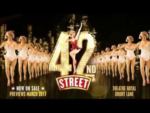 42nd Street  Trailer  Opens Mar 2017  Theatre Royal Drury Lane