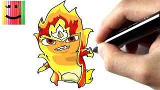 Comment dessiner la slug élémentaire de feu - TUTORIEL - [ SLUGTERRA ]