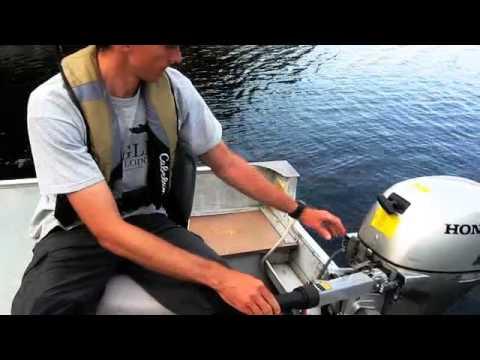 boat motor basics pull start youtube. Black Bedroom Furniture Sets. Home Design Ideas