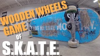 Wooden Wheels Game of S.K.A.T.E.