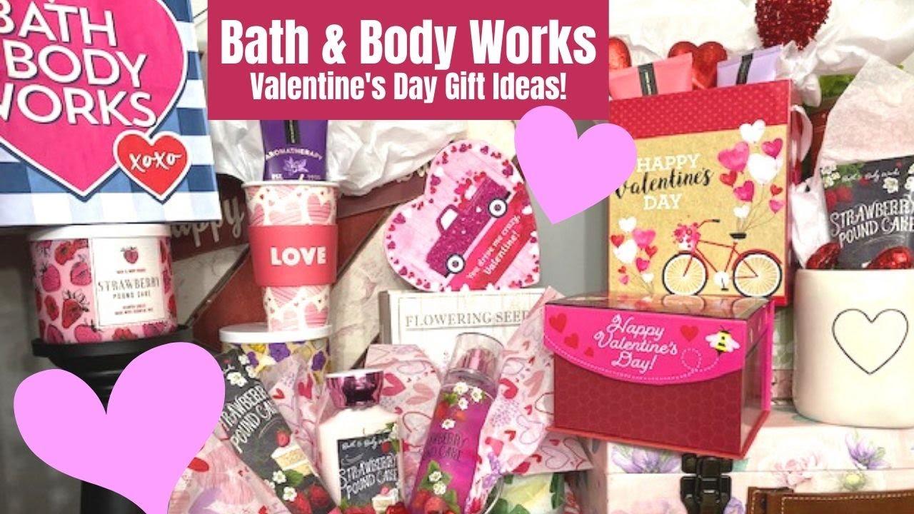 Bath Body Works Valentine S Day Gift Ideas Youtube
