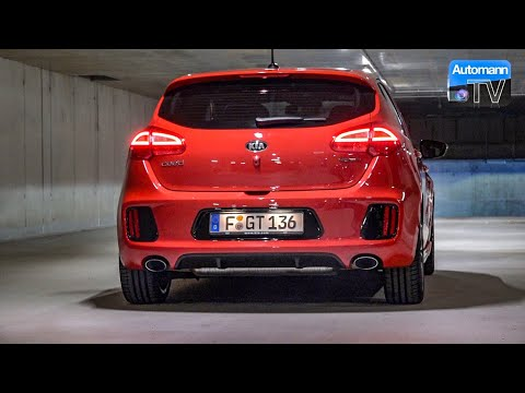 2017 KIA cee'd GT (204hp) - pure SOUND (60FPS)