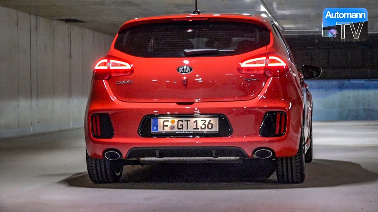 2017 kia cee 39 d gt 204hp pure sound 60fps youtube. Black Bedroom Furniture Sets. Home Design Ideas