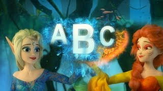 ABC SONGS | ABC Songs for Children | Funny Frozen Land Video Collection | Nursery Rhymes