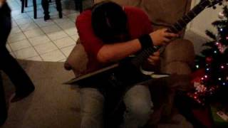 Soloing on my new Dean Razorback 255