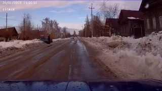 ДТП г Хвалынск 20 01 2015