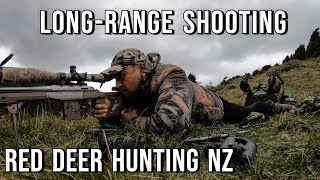 Red Deer hunting NZ - Long range Shooting
