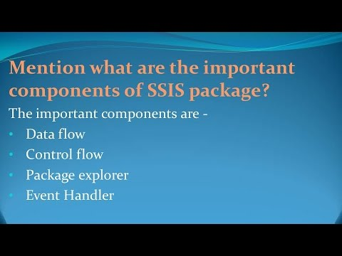 Sql Server Integration Services Interview Questions And Answers Pdf