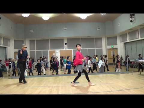 Stroll Along Cha  ( Teach & Dance ) - Line Dance by John & Janette Sandham