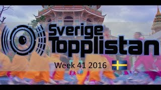 The Official Swedish Singles Chart TOP 20 | Week 41, October 7th 2016
