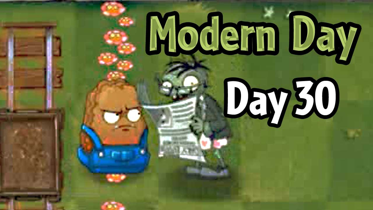 plants vs zombies 2 modern day day 30 don t trle the flowers