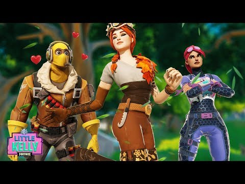 RAPTOR becomes OBSESSED with THE AUTUMN QUEEN | Fortnite Short Film